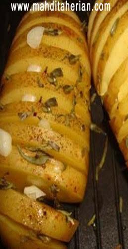خوراک سیب زمینی مخصوص برای فیتنس کاران