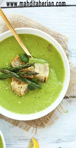 سوپ سبزیجات برای فیتنس کاران